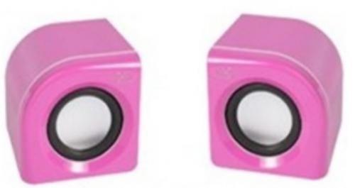 Caixa de Som 2.0 Integris Summer - Rosa