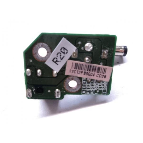 Conector Power Jack P/ Compaq Presario M2000 DAOCT2PB6D8