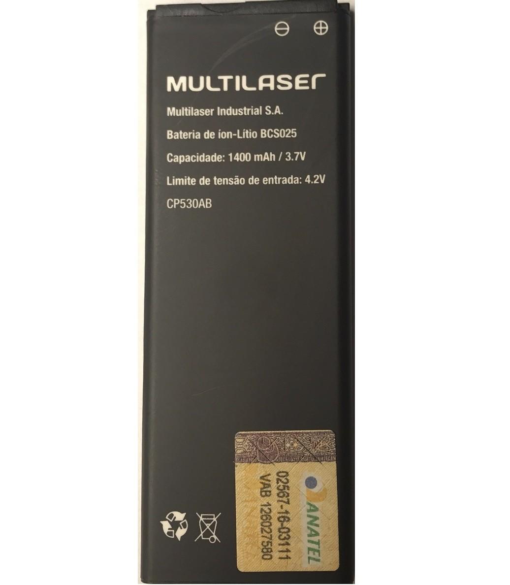 Bateria Multilaser Ms40s 1400mah Bcs025 PR057 Original