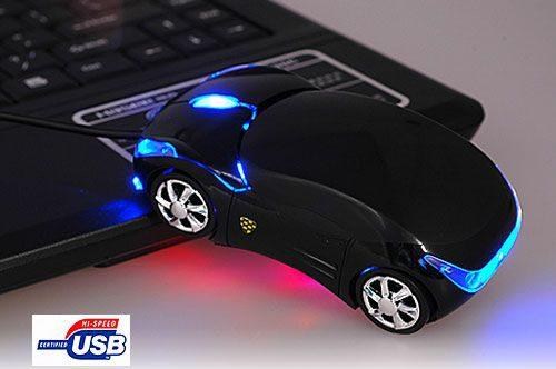 Car Mouse Ótico 3 Botões USB Clone - 06312