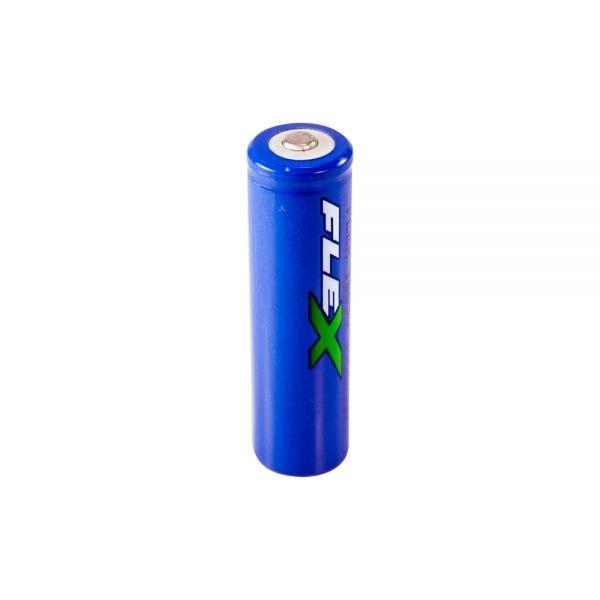 Bateria Recarregável p/ Lanterna Portátil Flex FX-L18650