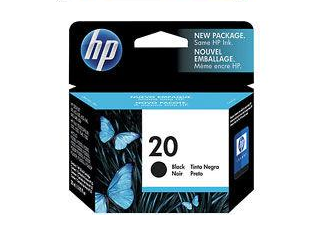 Cartucho HP 20 Preto - Original