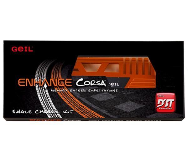 GEIL Memória PC Enhance Corsa 4 GB DDR3-1333 PC3-10660 CL9 (GEC34GB1333C9SC