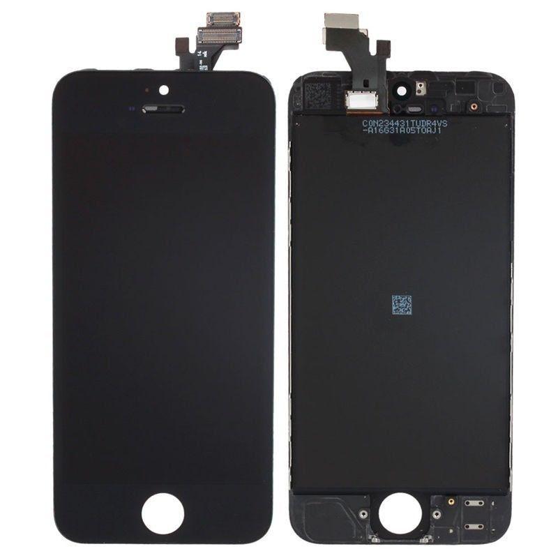Tela touch display Iph 5C A1507 A1532 Preto
