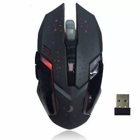 Mouse Gamer Sem Fio 2000DPI  Recarregável Hoopson Gxw-900