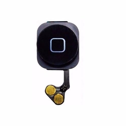 Botão Home Iphone 5 5g Preto Completo Com Flex