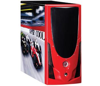 Gabinete Speed Racer Leadership Vermelho S/ Fonte