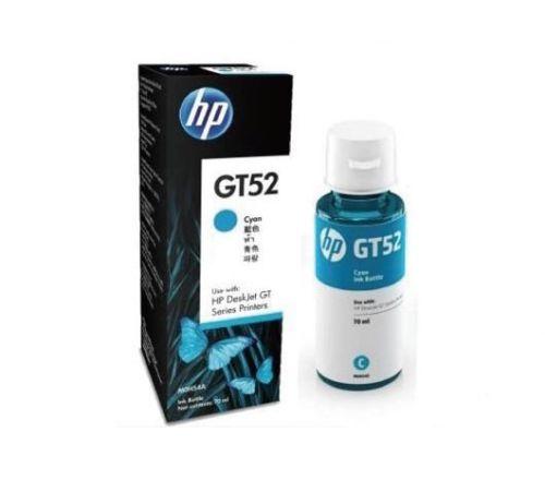 Garrafa de Tinta HP GT52 70ML Ciano p/ HP GT 5822 MOH54AL