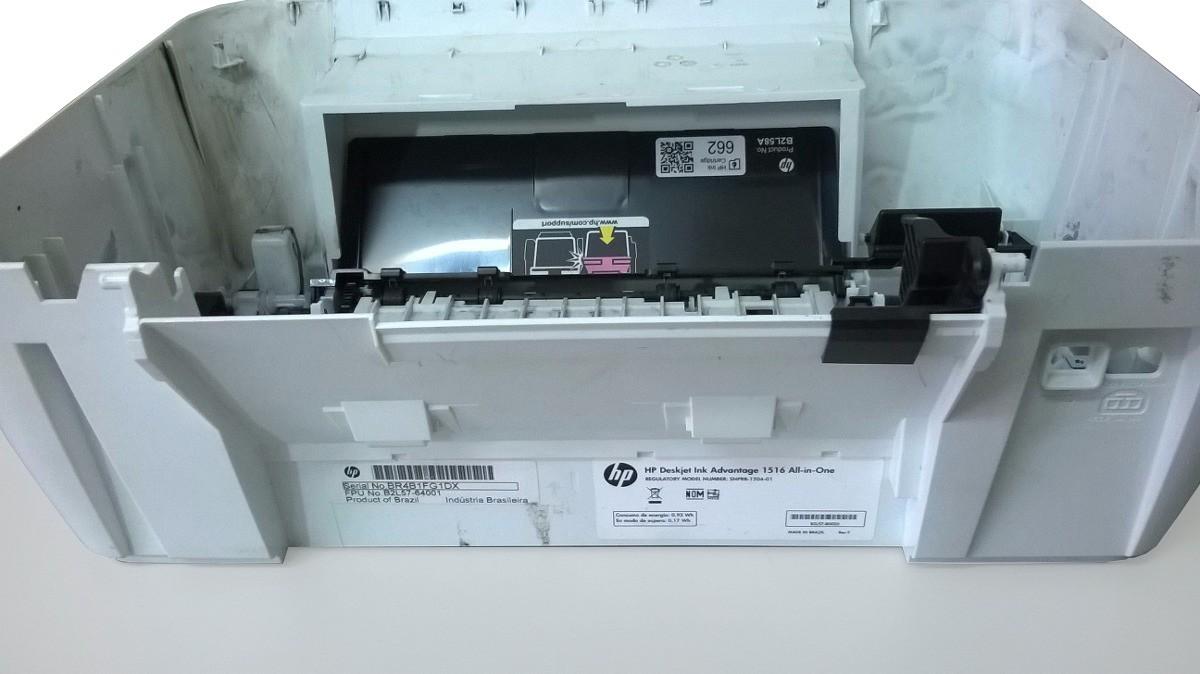 Carcaça Inferior P/  Impressora HP Ink Advantage 1516