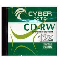 CD-RW Cyber Comp 700MB 12x - Kit com 5 Unidades