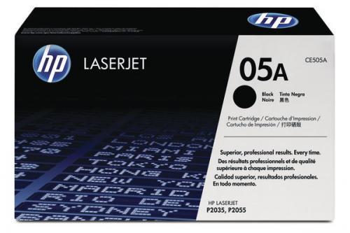 Cartucho de Toner Preto HP 05A LaserJet (CE505A)