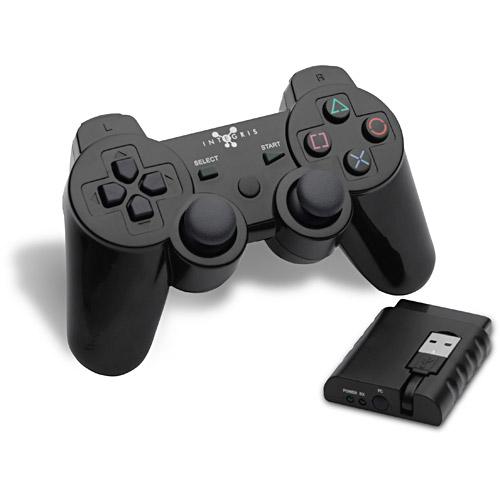 Controle sem fio para PC e PS2/3 USB INTEGRIS