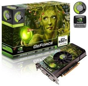 GPU GTX550TI 1GB DDR5 PCIE POV VGA-550-A3-1024-C