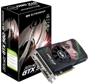 GPU GTX560 1GB DDR5 PCI-E ECS NBGTX560-1GPI-F