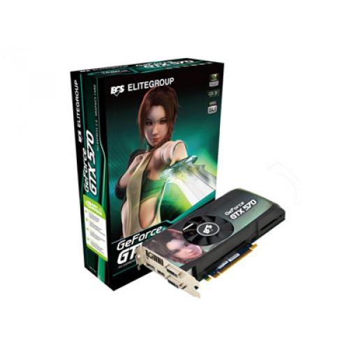 GPU GTX570 1,2GB DDR5 PCI-E ECS NGTX570-1280UI-F