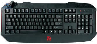 TECLADO GAMER TT SPORTS CHALLENGER USB KBCHL002PB