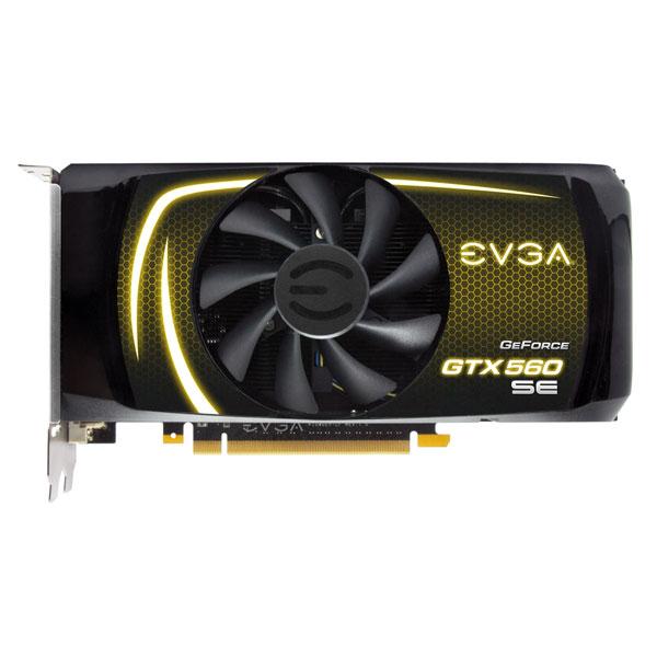 GeForce GPU GTX560 SE 1GB DDR5 PCIE EVGA 01G-P3-1464-KR