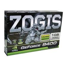GeForce GPU 8400GS 1GB DDR3 PCI-E ZOGIS ZO84GS-1GD3H
