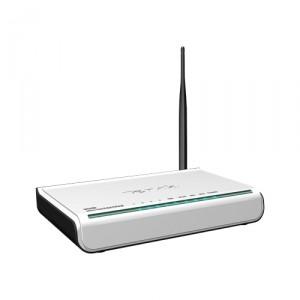 Modem Wireless ADSL2+ Modem Roteador Tenda W548D V2.0