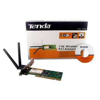 Adaptador Wireless 802.11g/b 2 Antenas PCI Tenda W302P