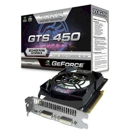 GTS 450 2GB ZOGIS ZOGTS450 2GB D3H