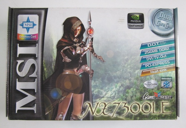 Placa De Video MSI NX7300LE TD256EH 256MB DDR2