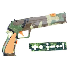 Pistola Para WII Camuflada INTEGRIS - WI137B