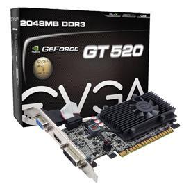 Placa de Video Geforce EVGA GT 520 2GB