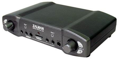 AMPLIFICADOR ZALMAN ZM-RSA 5.1CH DUAL OUTPUT