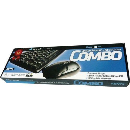 KIT COMBO TECLADO+MOUSE SK-307 PS2 FORTREK