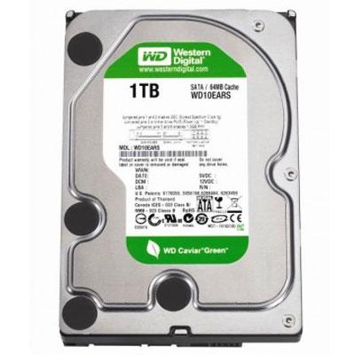 HD 1TB CAVIAR GREEN SATA II 7200 RPM WD10EARS WESTERN DIGITTAL