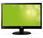 Monitor AOC 18.5´ LED E950Swda Mult. DVI Slim Black Piano