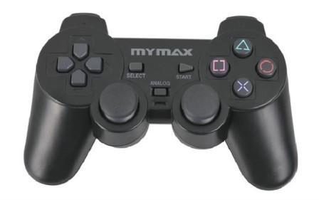 CONTROLE DE PS2 ANALÓGICO MCT-J3004WD-BK MYMAX