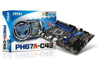 PLACA MÃE MSI PH67A-C43 LGA 1155