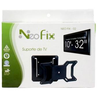 SUPORTE PARA TV NEO FIX 02 - LCD E PLASMA - DE 10´A 32´