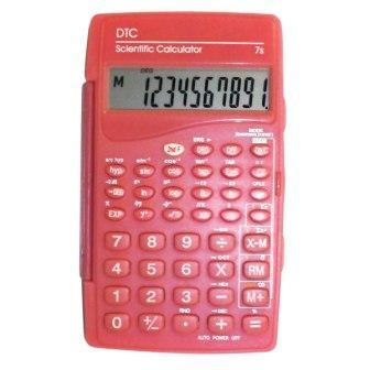Calculadora Científica Dtc 7s Rosa