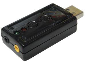 PLACA DE SOM 3D VIRTUAL 7.1 USB WF027