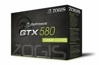 PLACA DE VIDEO GPU GTX580 1,5GB DDR5 384B ZOGIS ZOGTX58015D5H