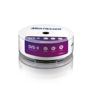 MIDIA DVD -R VEL. 16X - 25 UN. LIGHTSCRIBE SHRINK