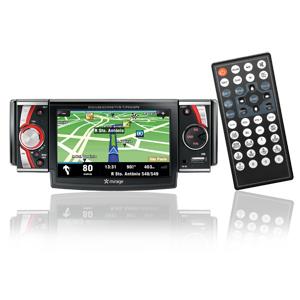 AUTO RADIO GPS MULTILASER COM DVD PLAYER 4,3 P3102