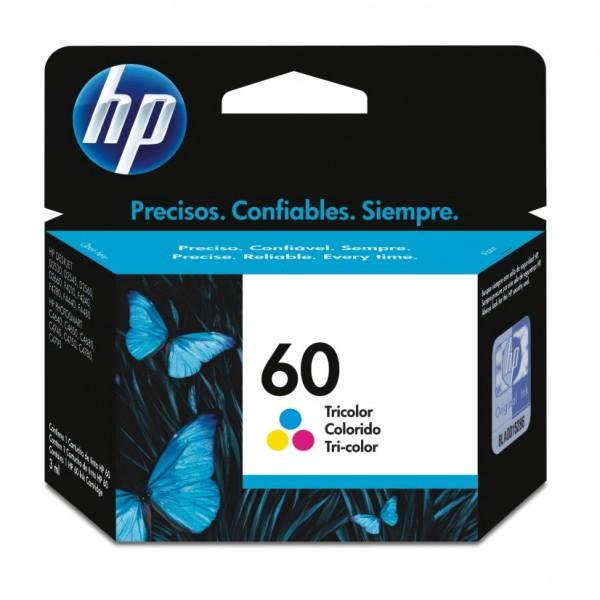 Cartucho de Tinta  HP 60 Tricolor CC643WB