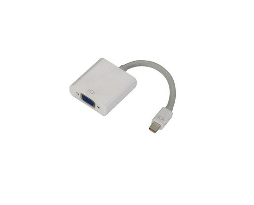 Cabo Mini Displayport Thunderbolt  P/ VGA Branco