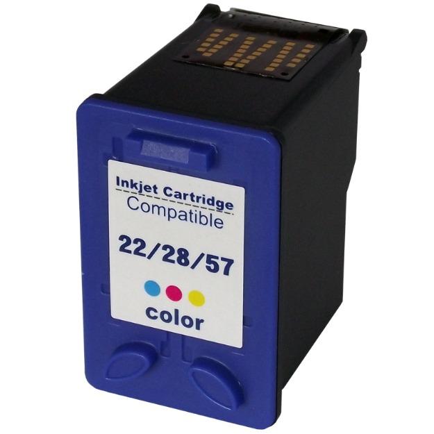 Cartucho HP Compatível Universal 22 28 57 Colorido