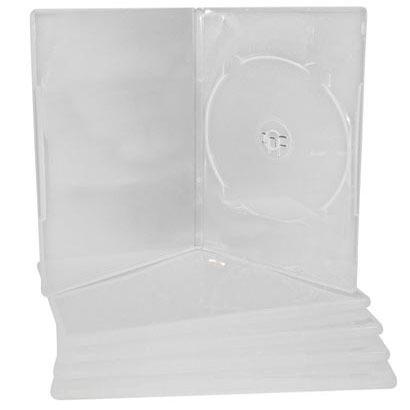 Estojo, Box Transparente Para Dvd Novodisc C/ 50 Unidades