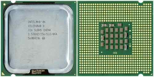 Processador Intel Celeron D 326 2.53ghz 775 (Semi Novo)