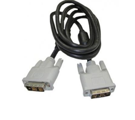 Cabo para monitor DVI x  DVI 1,5mts Single Link Branco