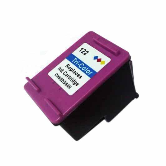 Cartucho de Tinta HP 122XL Compatível Colorido