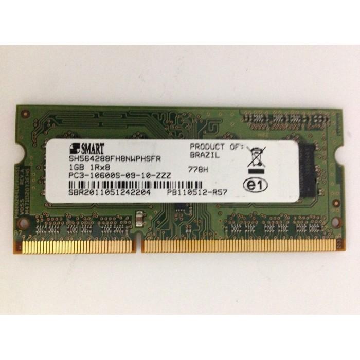 Memória p/ Notebook DDR3 PC3-10600 1GB