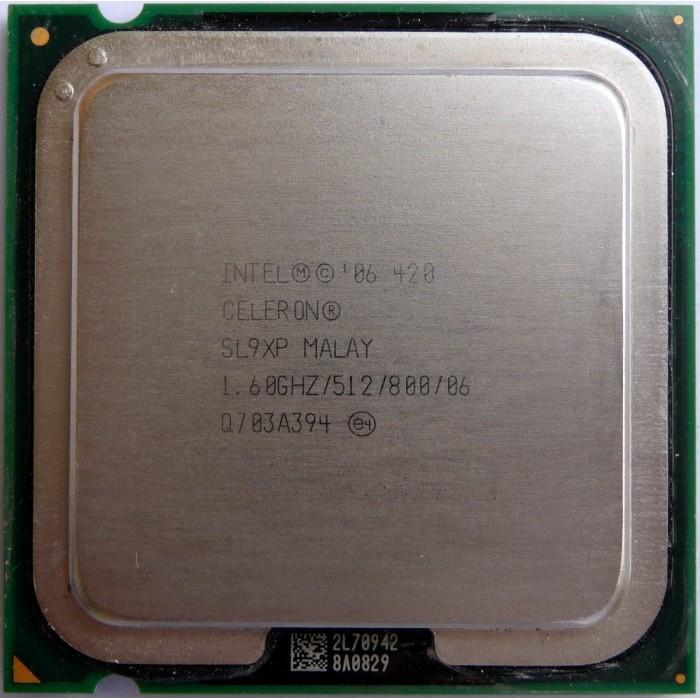Processador Intel Celeron 420 1.60Ghz 775 SL9XP