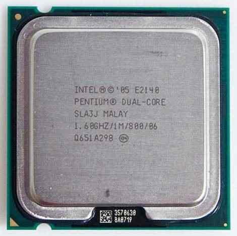 Processador Intel Pentium Dual-Core 1.6Gz E2140 775